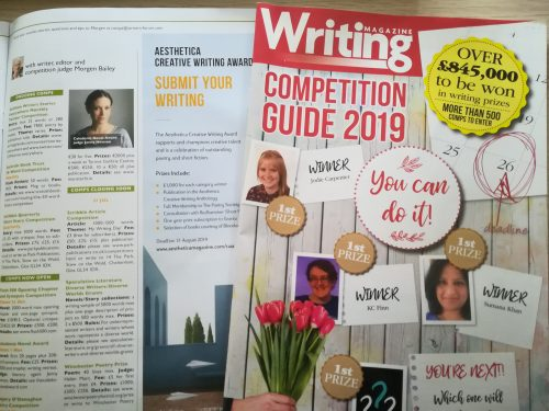 Tips for entering writing competitions